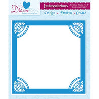 Die'sire - Embossing Folder - Frame 8x8""