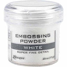 Ranger - Embossing Powder - White (Super Fine Detail) 17g