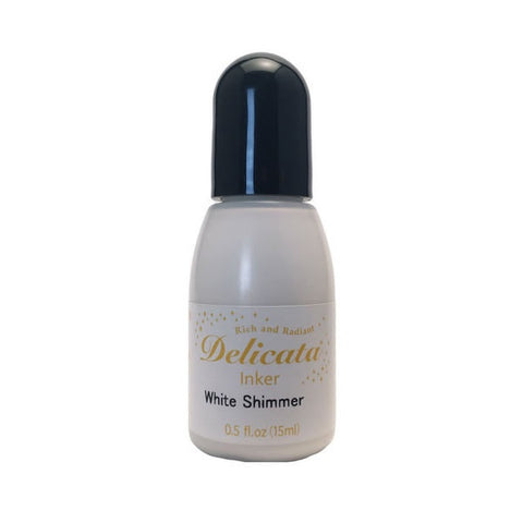 Delicata Re-inker - White Shimmer