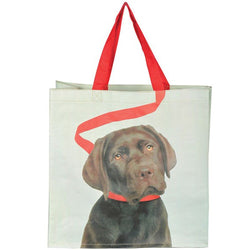 Shopping Bag - Dog on Leash