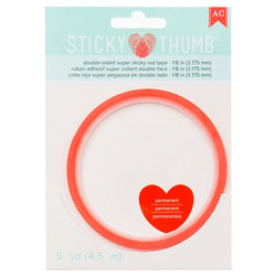 American Crafts - Sticky Thumb - Double Sided Super Sticky 3.175mm