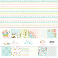 Lady Pattern Paper - Little Moments Collection Kit