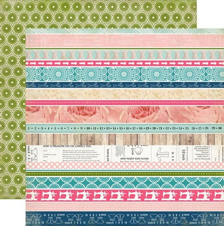 Carta Bella - Sew Lovely Collection - Border Strips