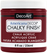 DecoArt - Chalky Finish Paint - Rouge 236ml