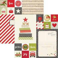 Simple Stories - Claus & Co Collection - 2x2 & 6x8 Elements
