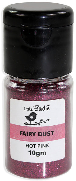 Little Birdie - Fairy Dust - Hot Pink