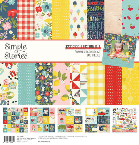 Simple Stories - Summer Farmhouse Collection Kit
