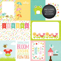 Echo Park - Celebrate Spring Collection - Journaling Cards