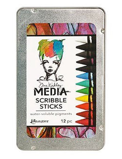 Dina Wakley - Media Scribble Sticks - Set 1