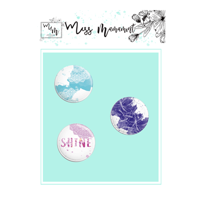 Miss Mamamint - Believe Collection - Scrap Caps