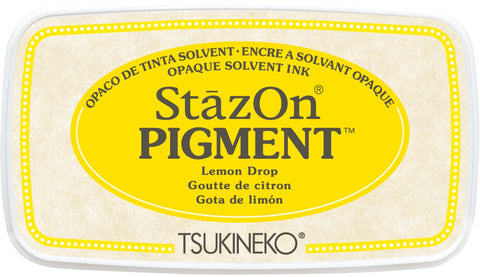 Stazon - Pigment Ink Pad - Lemon Drop
