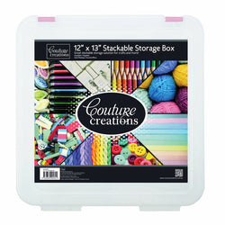 Couture Creations - 12x13 Stackable Storage Box