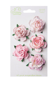 Bloom - Flowers - Wild Roses - Pink (5pc)
