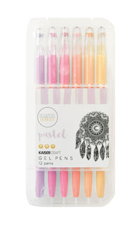 Kaisercraft - Gel Pen Box - 12 Pastel Colours