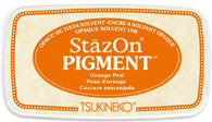 Stazon - Pigment Ink Pad - Orange Peel