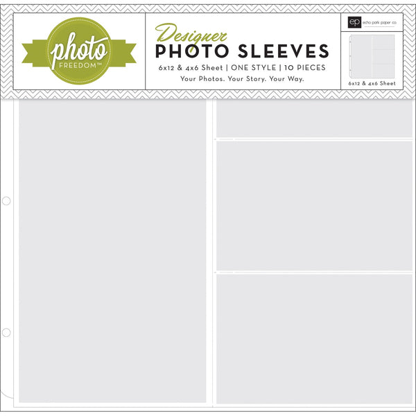 "Echo ack - Photo Pocket Pages - 6x1"" & 4x6"" (10pack)"