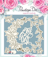 Penelope Dee - Alyssia Collection Chipboard - One Fine Day