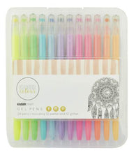 Kaisercraft - Gel Pen Box - 24 Colours