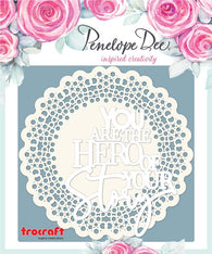 Penelope Dee - Life Story Collection Chipboard - Hero Of Your Story (combo)