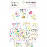 Simple Stories - Magical Birthday Collection - 4x6 Sticker Book