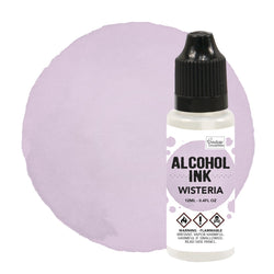 Couture Creations - Alcohol Ink - Pink Sherbet / Wisteria (12ml)