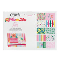 American Craft - Dear Lizzy - Here & Now- Boxed Cards( 40 Cards & Envelopes)