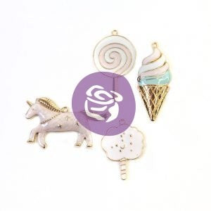 Prima - Dulce Collection - Enamel Charms