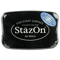 Tsukineko - Stazon Ink Pad - Jet Black