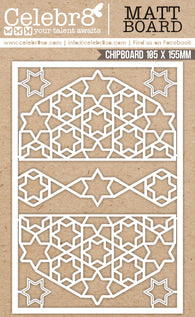 Celebr8 - 'Tis The Season Collection Chipboard - Mesh