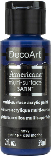 DecoArt - Americana Multi-surface Acrylic - Navy 59ml