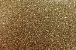 Heat Transfer Vinyl - Glitter - Gold 1mx25cm