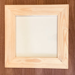 SC - Frame - Raw Pine Single Page - With Glass