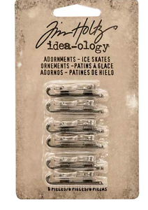Tim Holtz - Idea-ology - Adornments - Ice Skates