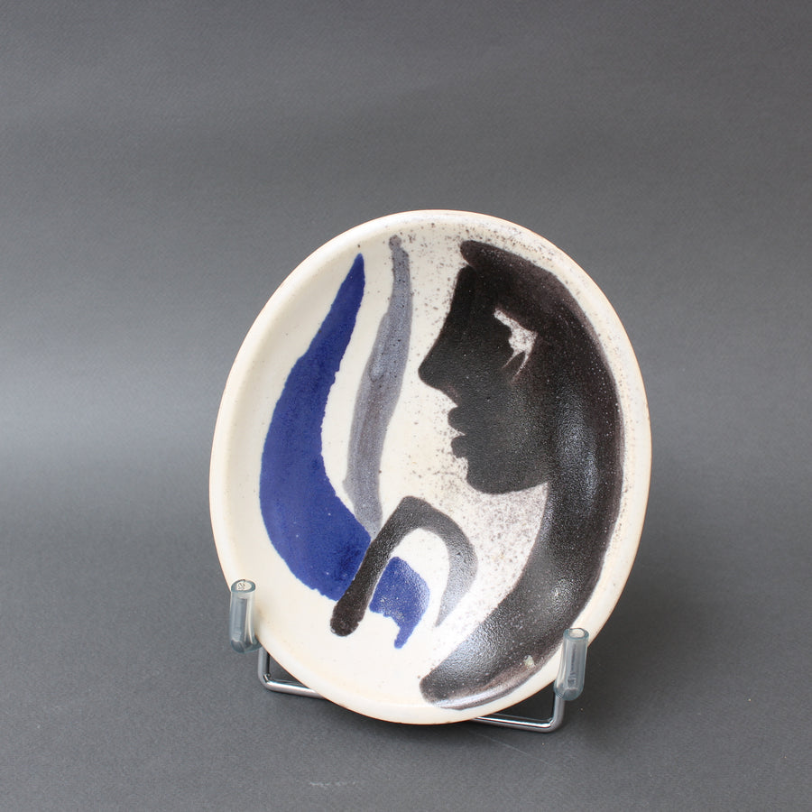 Decorative French Ceramic Bowl by Mado Jolain (circa 1950s)