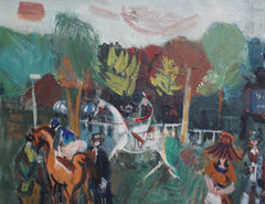 'Longchamp Racecourse Paris' by Maurice Empi (circa 1960s)