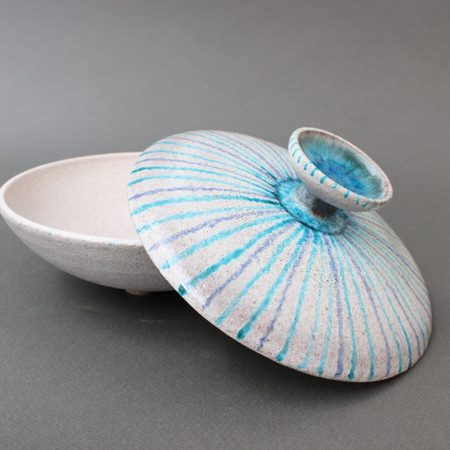 Vintage Italian Ceramic Candy Dish by Guido Gambone (circa 1950s)