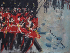 'Changing of the Guard at Buckingham Palace' by Maurice Empi (circa 1960s)