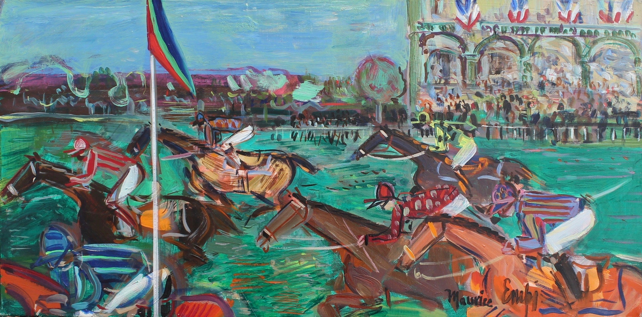 'A Day at the Races' by Maurice Empi (1991)