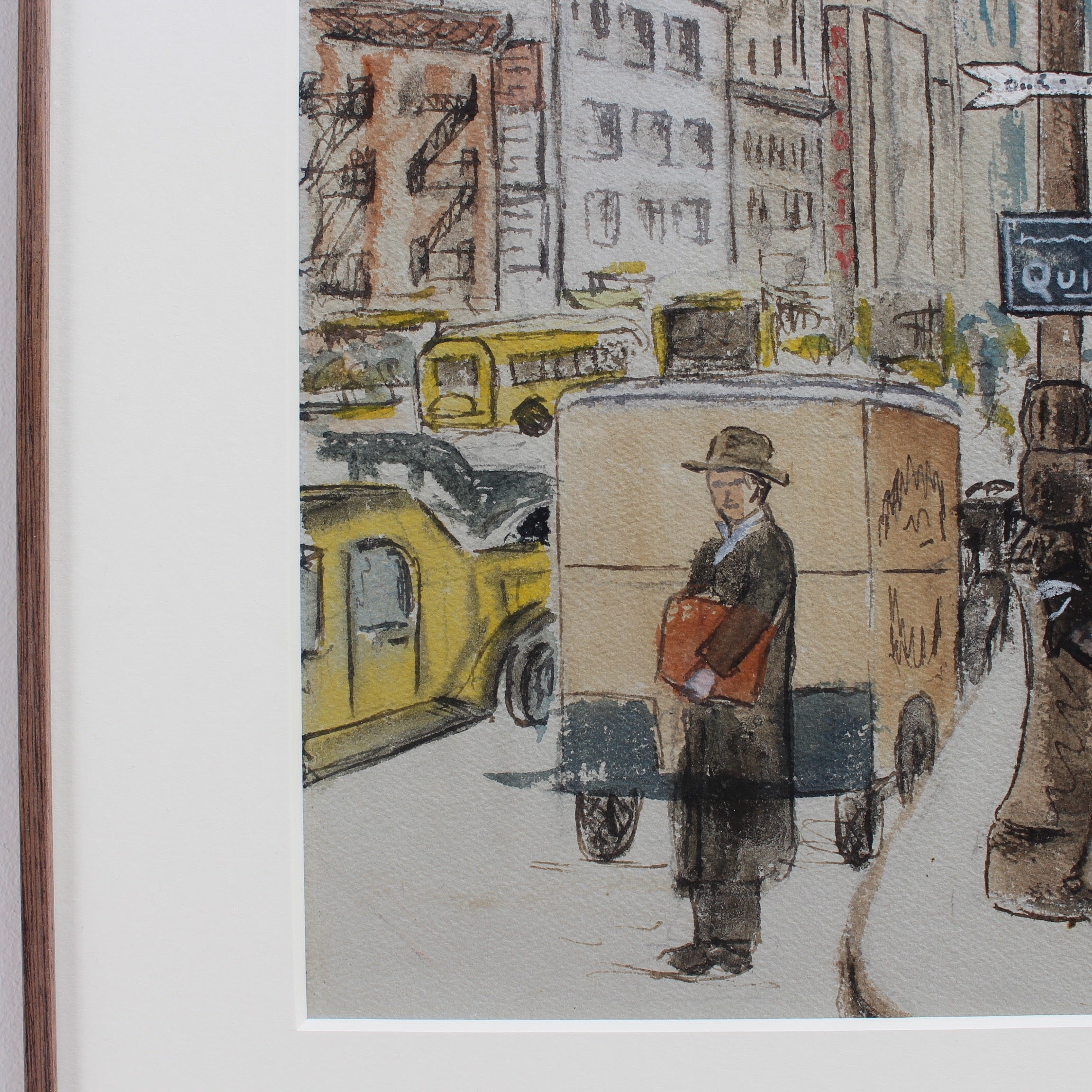 'New York West 55th Street' by Albert Jacquez (1945)