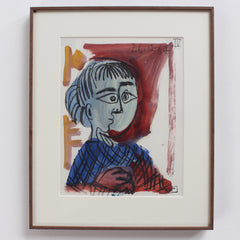 'Portrait of a Child' by Raymond Dèbieve (1967)
