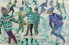 'A Wink at the Rink' by Jean Monneret (circa 1970s)