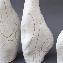 Set of Four Sassi (Grès) Vases by Bruno Gambone (circa 1980s)