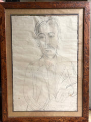 Original Drawing of Marius André by Raoul Dufy (Circa 1910 - 1925)
