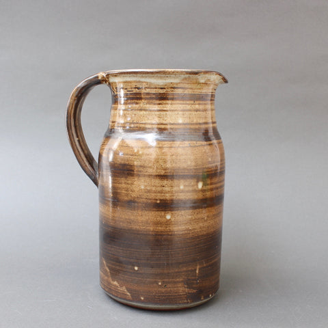 Ceramic Decorative Pitcher by Dominique Pouchain (circa 1980s)