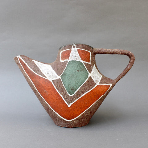 Stylised Mid-Century Ceramic Watering Pot / Vase by Accolay (circa 1950s)