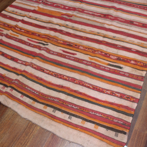 Large Vintage Moroccan Tribal Rug