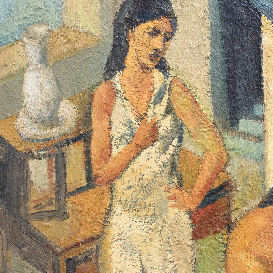 'Woman in Front of the Mirror' by Vincent Tailhardat (circa 1990s)