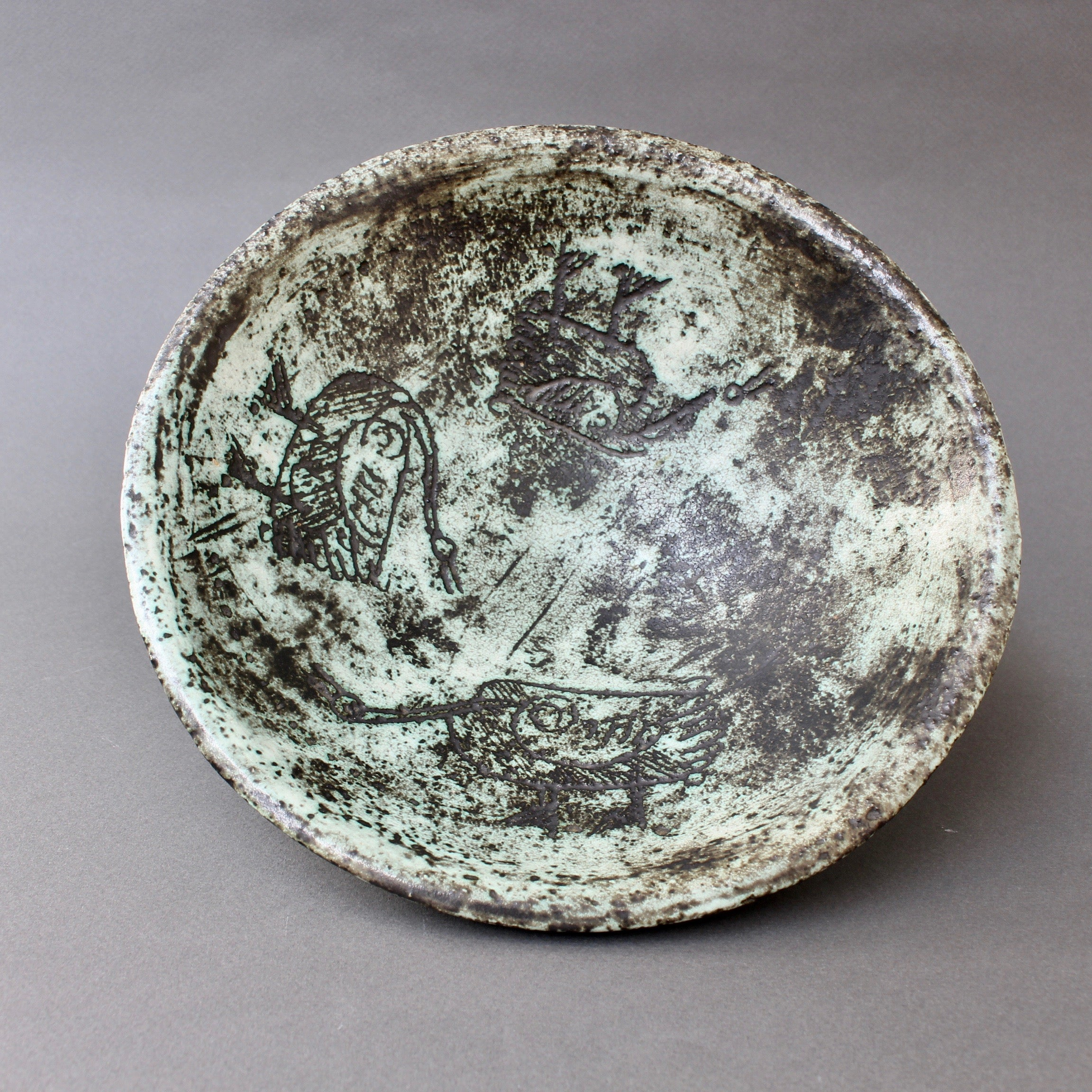 Mid-Century Ceramic Decorative Bowl by Jacques Blin (circa 1950s)