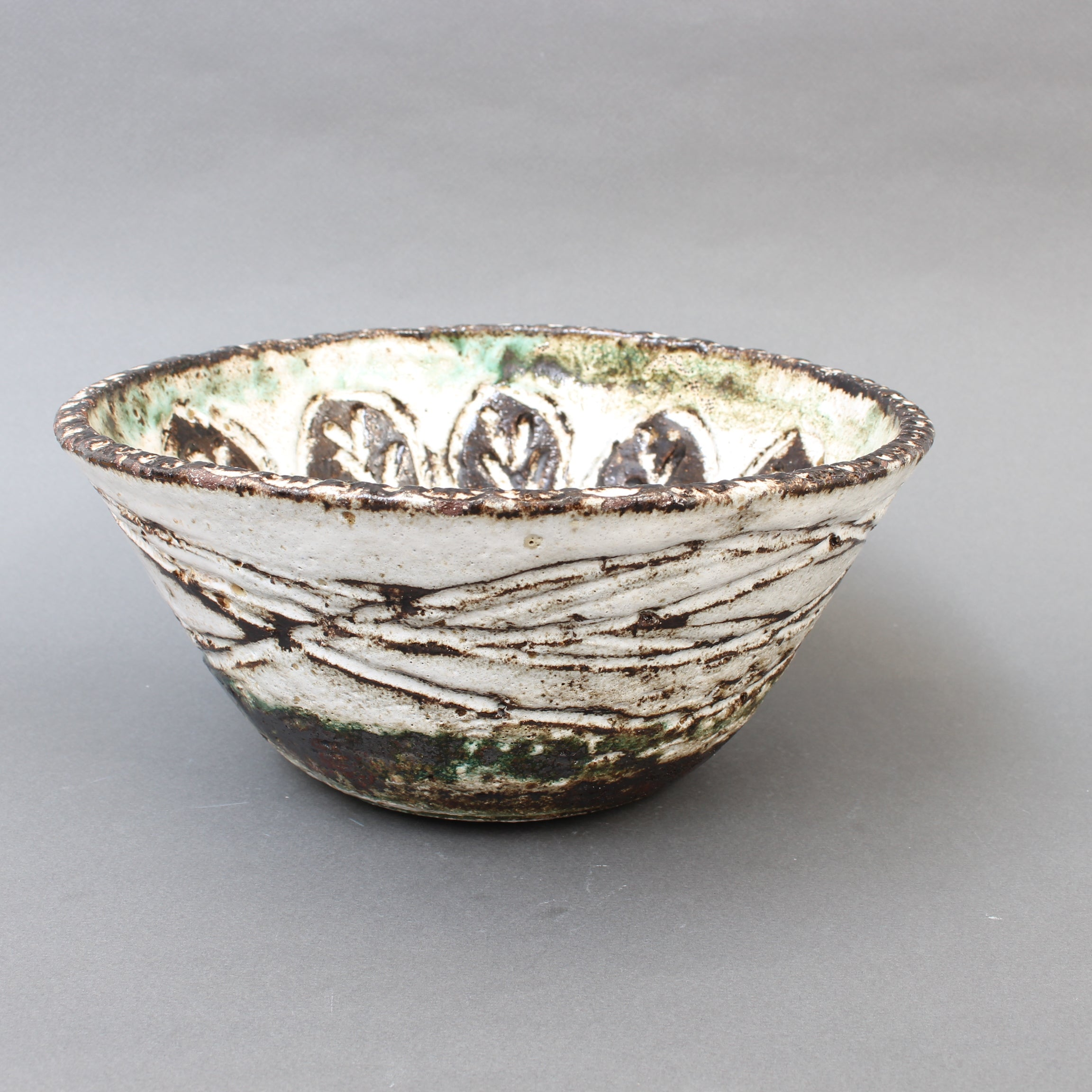 Mid-Century Decorative Bowl by Albert Thiry (circa 1960s)