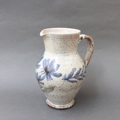 Vintage French Ceramic Pitcher by Gustave Reynaud - Le Mûrier (circa 1950s)